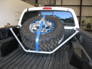MDF Exterior Accessories - Tire Carriers - N-Fab Tire Carriers