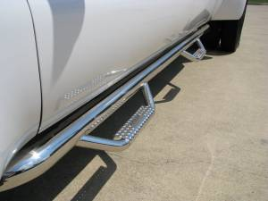 Nerf Bars - N Fab Stainless Steel Nerf steps - Chevy/GMC
