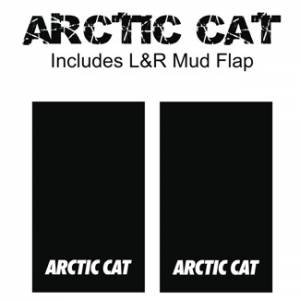 "Proven Design - Heavy Duty Series Mud Flaps 22"" x 13"" - Artic Cat Logo"