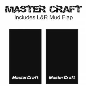 "Proven Design Mud Flaps with Logo's - Heavy Duty Series Mud Flaps 22"" x 13"" - Master Craft Logo"