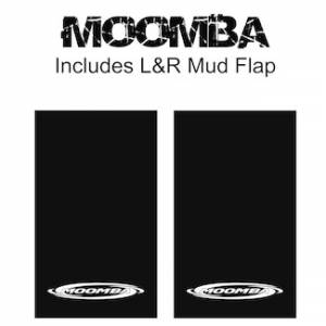 "Proven Design Mud Flaps with Logo's - Heavy Duty Series Mud Flaps 22"" x 13"" - Moomba Logo"