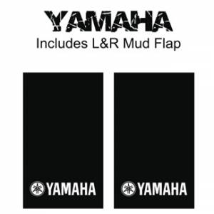 "Proven Design Mud Flaps with Logo's - Heavy Duty Series Mud Flaps 22"" x 13"" - Yamaha Logo"