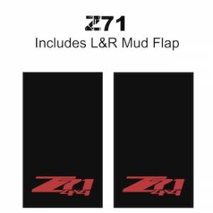 "Proven Design - Heavy Duty Series Mud Flaps 22"" x 13"" - Z71 Logo"