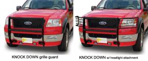 Grille Guards & Brush Guards - Go Industries Grille Guards - Knock Down Grille Guards