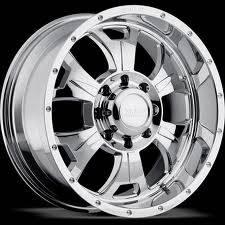 "M-80 - 24"" Wheels - Chrome"