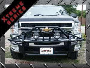 Grille Guards & Brush Guards - Frontier Gear Xtreme Grille Guard - GMC
