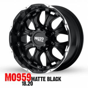 Moto Metal Wheels - Mo959 - 18 Inch Rims