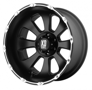 Wheels and Tires - KMC XD Series - XD779 Badlands