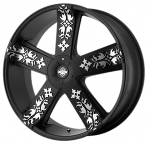 KMC Wheels - Ink'D - 24 Inch Rims