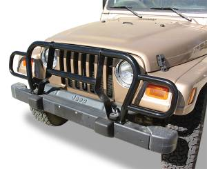 MDF Exterior Accessories - Grille Guards & Brush Guards - Rampage Jeep Grille Guards