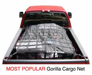 MDF Exterior Accessories - Cargo Boxes and Racks - SafetyWeb Gorilla Cargo Net | Truck Bed Net