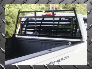 Headache Racks - Frontier Light Duty Headache Rack - Chevy/GMC