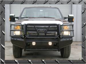 Frontier Bumpers - Frontier Bumpers with Full Guard - Ford