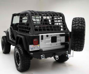 MDF Exterior Accessories - Bumpers - Jeep Bumpers - Smittybilt Rear Bumpers