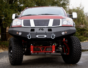 Fab Fours Premium Winch Bumpers - FAB Fours Winch Bumper - Nissan