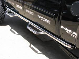 MDF Exterior Accessories - Running Boards | Nerf Bars - N Fab Stainless Steel Nerf Steps