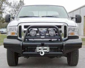 Ranch Hand Front Bumpers - Legend Bullnose Front Bumper 9.5K winch ready - Dodge