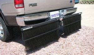 Mud Flaps by Style - Towtector Brush System - Towtector Pro with Single Brush Strips - Truck, Dually and RV Models