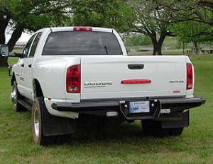 Ranch Hand Bumpers - Ranch Hand Rear Bumpers - Dually Back Bumper