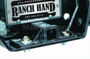 Bumpers - Ranch Hand Rear Bumpers - Bolt-On Receiver Tube