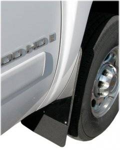 Mud Flaps by Style - Rubber Mud Flaps - Luverne Rubber Mud Flaps with Stainless Steel