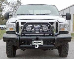 Ranch Hand Bumpers - Ranch Hand Front Bumpers - Legend Front Bumper Bullnose (9.5K Winch Ready)