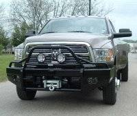 Ranch Hand Bumpers - Ranch Hand Front Bumpers - Summit Front Bumper Bullnose (15K Winch Ready)