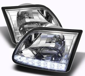 Lighting | Headlights | Tailights - Spyder Projector Headlights | Crystal Headlights | Tail Lights - Crystal Headlights