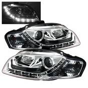 Spyder Projector Headlights | Crystal Headlights | Tail Lights - Projector Headlights - Audi
