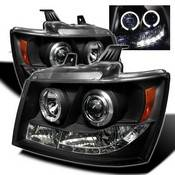 Spyder Projector Headlights | Crystal Headlights | Tail Lights - Projector Headlights - Chevy
