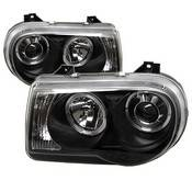 Spyder Projector Headlights | Crystal Headlights | Tail Lights - Projector Headlights - Chrysler