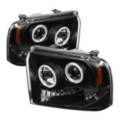Spyder Projector Headlights | Crystal Headlights | Tail Lights - Projector Headlights - Ford