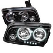 Spyder Projector Headlights | Crystal Headlights | Tail Lights - Projector Headlights - Dodge