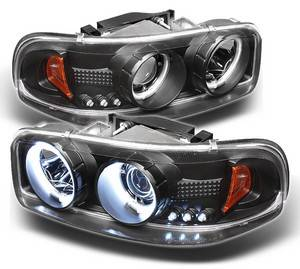 Spyder Projector Headlights | Crystal Headlights | Tail Lights - Projector Headlights - GMC