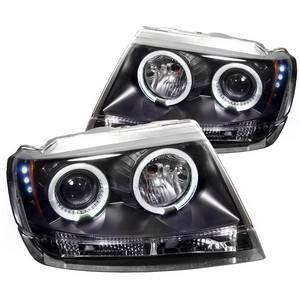 Spyder Projector Headlights | Crystal Headlights | Tail Lights - Projector Headlights - Jeep