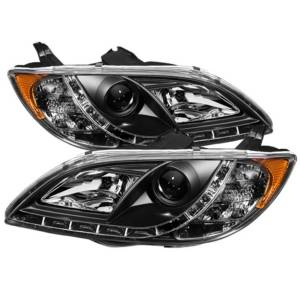 Spyder Projector Headlights | Crystal Headlights | Tail Lights - Projector Headlights - Mazda