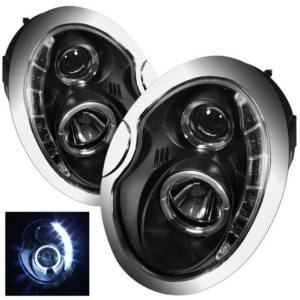 Spyder Projector Headlights | Crystal Headlights | Tail Lights - Projector Headlights - Mini