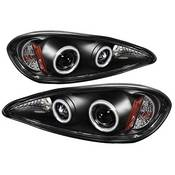 Spyder Projector Headlights | Crystal Headlights | Tail Lights - Projector Headlights - Pontiac