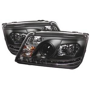 Spyder Projector Headlights | Crystal Headlights | Tail Lights - Projector Headlights - Volkswagen