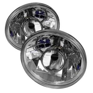 Spyder Projector Headlights | Crystal Headlights | Tail Lights - Projector Headlights - Universal