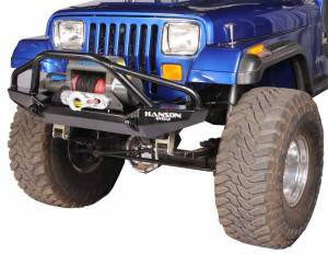 "Bumpers - Jeep Bumpers - Hanson - Jeep/FJ40 52"" Bumpers"