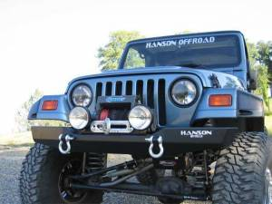 "Bumpers - Jeep Bumpers - Hanson - Jeep/FJ40 60"" Bumpers"
