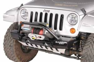 Bumpers - Jeep Bumpers - Hanson - JK Front Bumpers