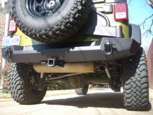 Bumpers - Hanson Jeep Bumpers - Rear Bumpers