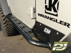 MDF Exterior Accessories - Side Steps - Pure Jeep Rocker Guards