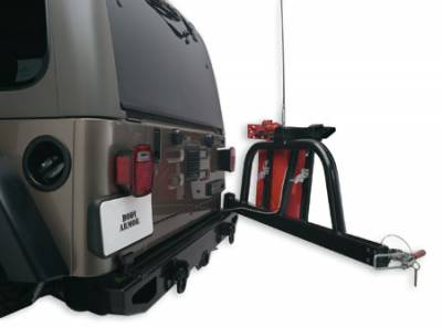 Bumper - Bumper- Rear - Body Armor - Body Armor JK-2393 Rear Bumper with Swing Arm Post Jeep Wrangler JK