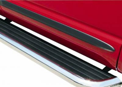 Luverne Running Boards and Nerf Bars - Mega Step - Luverne - Luverne 575114 Mega Step Running Board 114""
