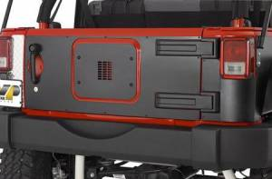 MDF Exterior Accessories - Tire Carriers - Warrior Tailgate Covers