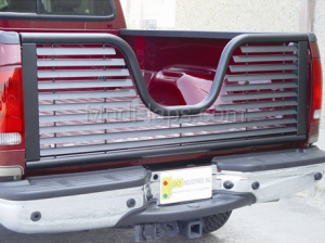 MDF Exterior Accessories - Tailgates - V-Gate Black Tailgate