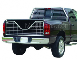 Tailgates - V-Gate Chrome Tailgate - Dodge